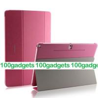 Чехол смарт флип подставка сегментарный серия Smart Cover для Samsung Galaxy Note Pro 12.2 Розовый