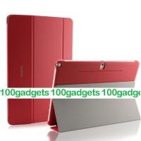 Чехол смарт флип подставка сегментарный серия Smart Cover для Samsung Galaxy Note Pro 12.2 Красный