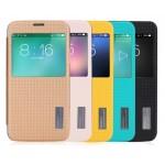 Чехол смарт флип с окном вызова серия Fully Dotted для Samsung Galaxy S5
