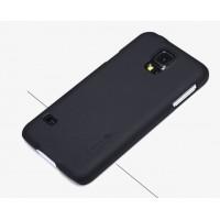 Пластиковый матовый премиум чехол для Samsung Galaxy S5 Черный