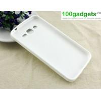 Силиконовый чехол для Samsung Galaxy Grand 2 Duos Белый