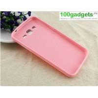 Силиконовый чехол для Samsung Galaxy Grand 2 Duos Розовый