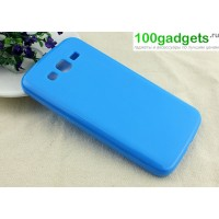 Силиконовый чехол для Samsung Galaxy Grand 2 Duos Голубой
