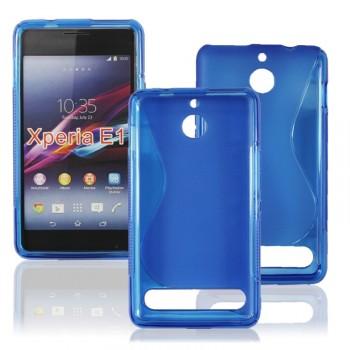 Силиконовый чехол S для Sony Xperia E1