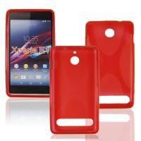 Силиконовый чехол X для Sony Xperia E1