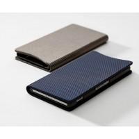 Эксклюзивный ультратонкий чехол флип подставка док-совместимый серия Metallic Cover для Sony Xperia Z2