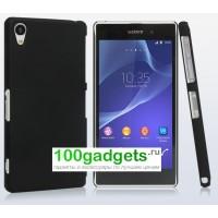 Пластиковый чехол для Sony Xperia Z2 Черный