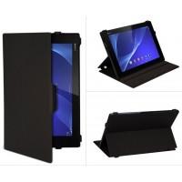 Чехол подставка текстурный для Sony Xperia Z2 Tablet Черный