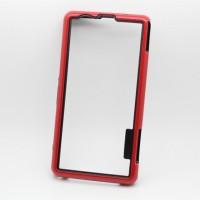 Силиконовый усиленный бампер для Sony Xperia Z1 Compact Красный