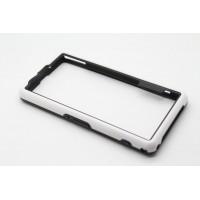 Силиконовый усиленный бампер для Sony Xperia Z1 Compact Белый
