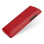 Кожаный чехол книжка вертикальная (нат. кожа) для HTC Desire 600 красная