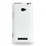 Чехол кожаный книжка вертикальная (нат. кожа) для HTC Windows Phone 8X