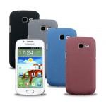 Пластиковый матовый чехол для Samsung Galaxy Trend 2 II Duos