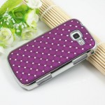 Чехол пластик/металл со стразами для Samsung Galaxy Trend 2 II Duos