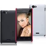 Чехол пластиковый матовый премиум для Sony Xperia J ST26i
