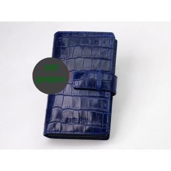 Персональный кожаный чехол разновидность Бумажник для Sony Xperia Z1