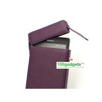 Персональный кожаный чехол разновидность Зажигалка для Sony Xperia Z1
