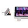 Глянцевый чехол флип подставка док-совместимая для Sony Xperia Z