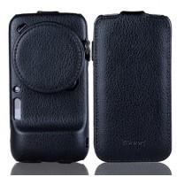 Кожаный чехол книжка (нат. кожа) для Samsung Galaxy S4 Zoom
