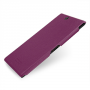 Накладка кожаная Back Cover (нат. кожа) для Sony Xperia Z Ultra фиолетовая