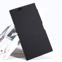 Пластиковый матовый премиум чехол для Sony Xperia Z Ultra Черный