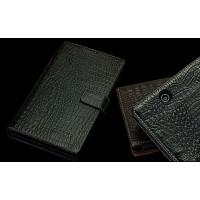 Кожаный чехол портмоне (нат. кожа крокодила) для Sony Xperia Z Ultra Черный