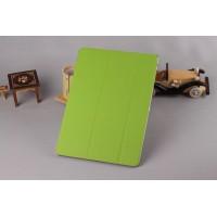 Ультратонкий чехол флип подставка сегментарный для Samsung Galaxy Note 10.1 2014 editon Зеленый