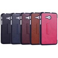 Кожаный чехол подставка для Samsung Galaxy Tab 3 Lite