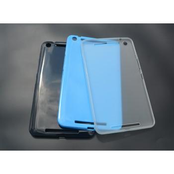 Силиконовый матовый полупрозрачный чехол для Asus MeMO Pad 8 (ME581CL)