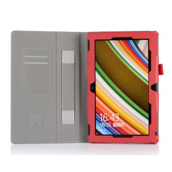 Чехол подставка с рамочной защитой и внутренними отсеками для Nokia Lumia 2520