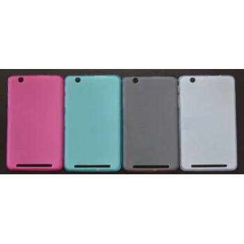Силиконовый матовый полупрозрачный чехол для Acer Iconia One 7 B1-750