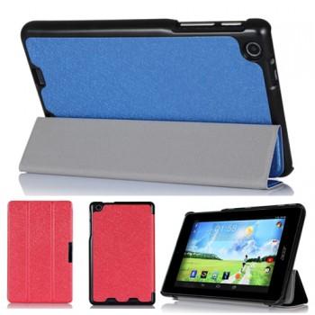 Текстурный чехол флип подставка сегментарный для Acer Iconia One 7 B1-730