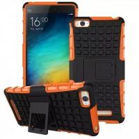 Силиконовый чехол экстрим защита для Xiaomi Mi4i Оранжевый