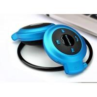 Беспроводные bluetooth 4.0 складные ультралегкие 40 гр наушники с функцией гарнитуры, регулятором громкости и поддержкой карт памяти MicroSD для Nokia Asha 500 (Dual Sim)