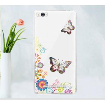 Силиконовый дизайнерский чехол с принтом для Xiaomi Mi4i/Mi4c