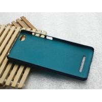 Пластиковый матовый металлик чехол для Xiaomi Mi4i Зеленый
