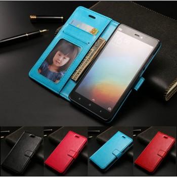 Чехол портмоне подставка с защелкой для Xiaomi Mi4с