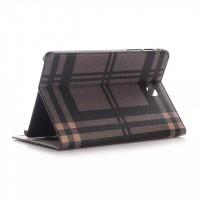 Чехол подставка текстурный для Samsung Galaxy Tab A 8 Коричневый