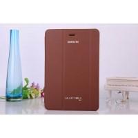Чехол флип подставка сегментарный для Samsung Galaxy Tab A 8 Коричневый