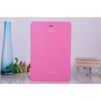 Чехол флип подставка сегментарный для Samsung Galaxy Tab A 8 Розовый