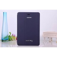 Чехол флип подставка сегментарный для Samsung Galaxy Tab A 8 Синий