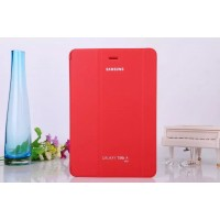 Чехол флип подставка сегментарный для Samsung Galaxy Tab A 8 Красный