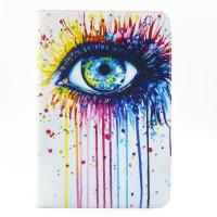 Текстурный чехол подставка с внутренними отсеками для Samsung Galaxy Tab A 8