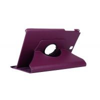 Чехол подставка роторный для Samsung Galaxy Tab A 9.7 Фиолетовый