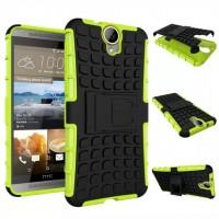 Силиконовый чехол экстрим защита для HTC One E9+ Зеленый