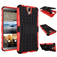 Силиконовый чехол экстрим защита для HTC One E9+ Красный