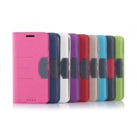 Текстурный чехол портмоне подставка для HTC One E9+