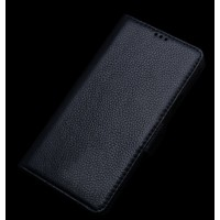 Кожаный чехол портмоне подставка (нат. кожа) для HTC One E9+