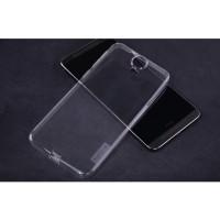 Силиконовый матовый полупрозрачный чехол для HTC One E9+ Белый