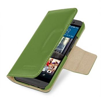 Кожаный чехол портмоне с магнитной защелкой (нат. кожа) для HTC One M9